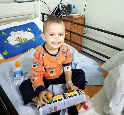 Не дитяча хвороба трирічного Артема